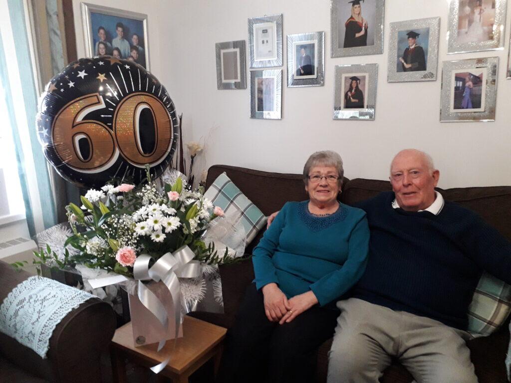 Anne and John Garside