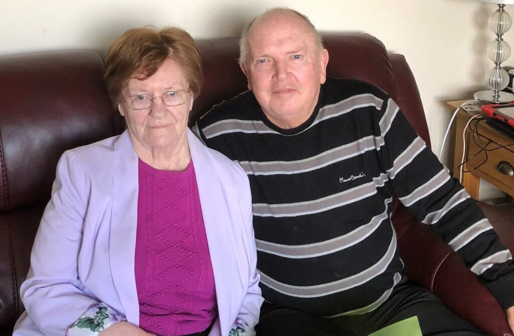 Kenneth and Patricia Stanworth